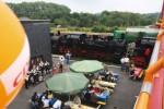 Sommerfest der CDU Ilmenau unter der neuen Fußgängerbrücke