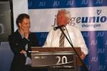 Stefan Gruhner, amt. Landesvorsitzender der JU Thüringen und Dr. Bernhard Vogel
