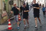 Spendenlauf durch die Gothaer Innenstadt zugunsten des Kinderhospizes Mitteldeutschland