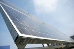 Solarpanel der Bosch Solar Energy AG Arnstadt