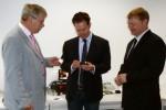 Im Gespräch mit den Geschäftsführern der Firma CESYS Engineering in Ilmenau