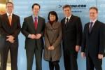Besuch von Vertretern des BVMW in Berlin
