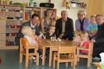 Besuch des Kindergartens in Eschenbergen