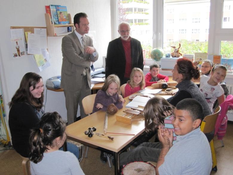 Besuch der Regelschule 1 in Arnstadt