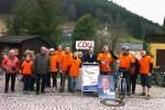 Wahlkampf auf dem Rad: Fahrradtour mit Oberbürgermeister Seeber