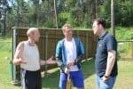 Im Gespräch mit den Trainern im Kinder- Biathlon-Trainingslager in Frankenhain