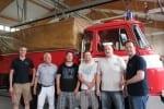 Besuch bei der Feuerwehr in Gräfenroda