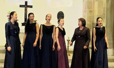 """Konzert des Chors """"Legende"""" in Ichtershausen"""