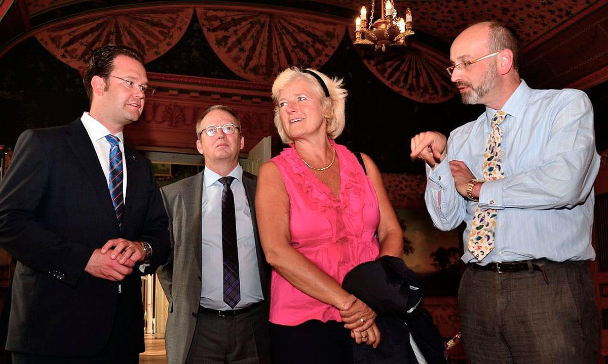 Besuch von Schloss Friedenstein mit Kulturausschussvorsitzende Prof. Monika Grütters