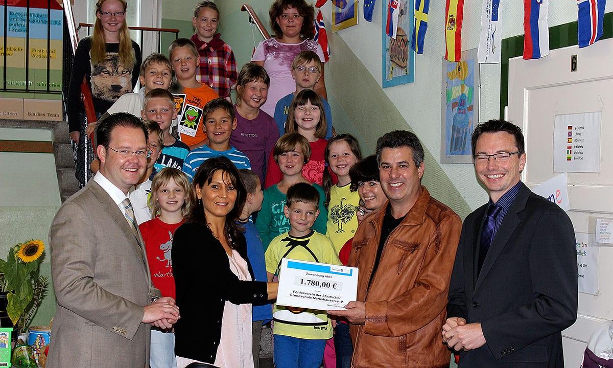 Lottomittel für die Grundschule Marlishausen