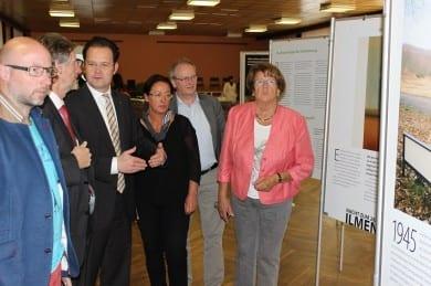 Zur Eröffnung der Ausstellung konnte ich unter anderem Landrat Konrad Gießmann begrüßen.