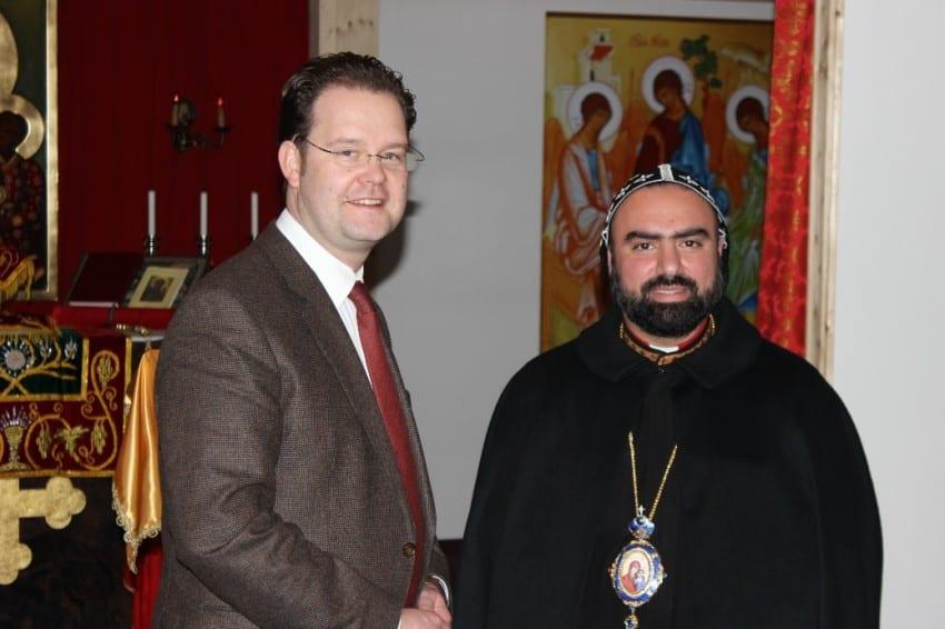 Besuch im Kloster St. Gabriel in Altenbergen