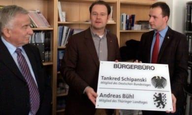 Neueröffnung des Bürgerbüros in Ilmenau