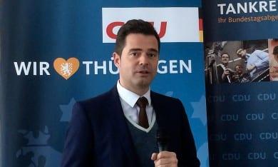 Mike Mohring beim CDU-Schlachtfest in Neustadt