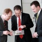 Besuch des Instituts für Mikroelektronik- und Mechatronik-Systeme (IMMS) in Ilmenau