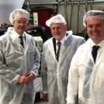 Zum Firmenbesuch bei Horn und Bauer in Wümbach