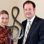 Treffen mit der Intendantin der Thüringer Philharmonie, Michaela Barchevitch