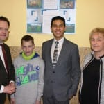 Besuch der Schule Waltershausen