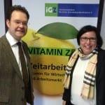 Gespräch mit der Thüringer Landesbeauftragten des IGZ e.V. in Arnstadt