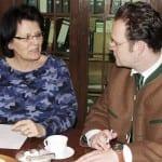 Gespräch mit der Geschäftsführerin der Kreishandwerkerschaft Gotha