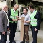 Besuch der Firma DS Smith Packaging Divison Arnstadt