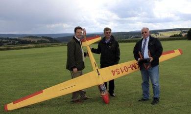 Besuch des Flugmodellsportverein Großbreitenbach e.V.