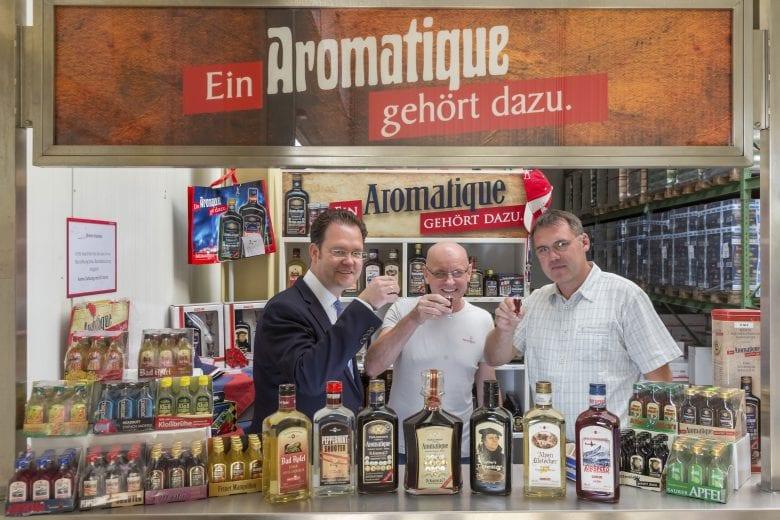 Firmenbesuch Aromatique, Neudietendorf