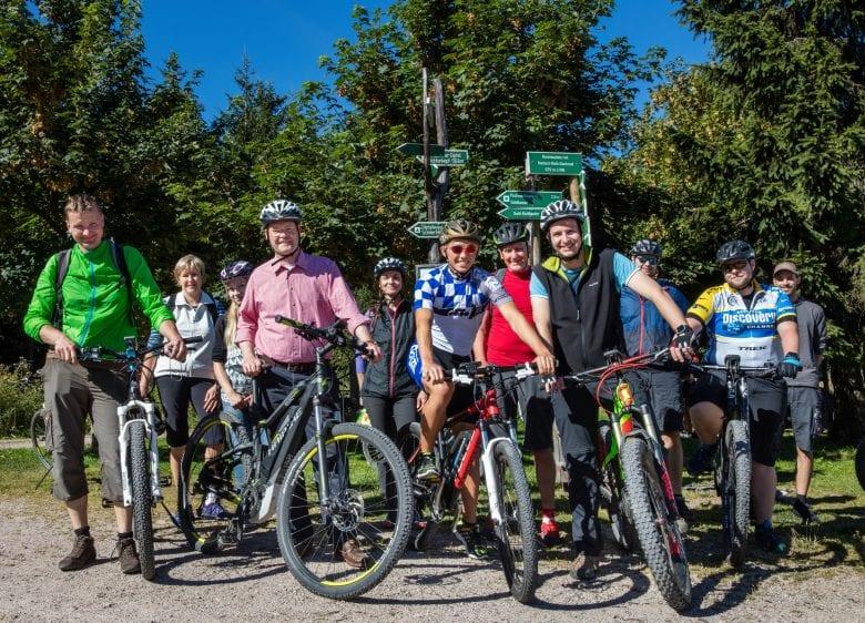 E-Bike-Tour von Schmiedefeld auf den Schneekopf