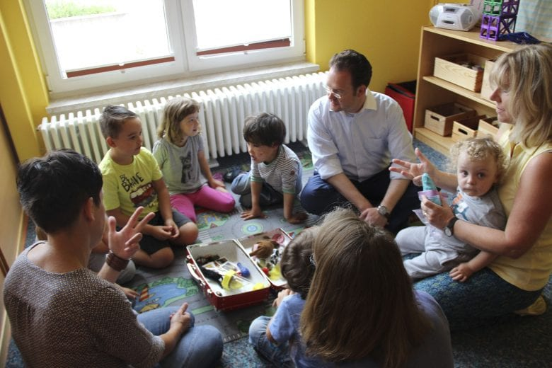 Besuch Integrations-Kinderzentrum Ilmenau