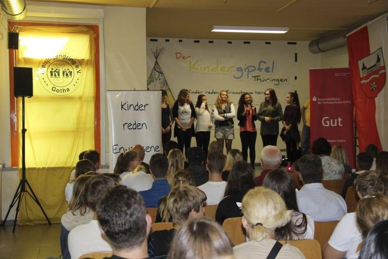 Eröffnung Lokaler Kindergipfel LK Gotha