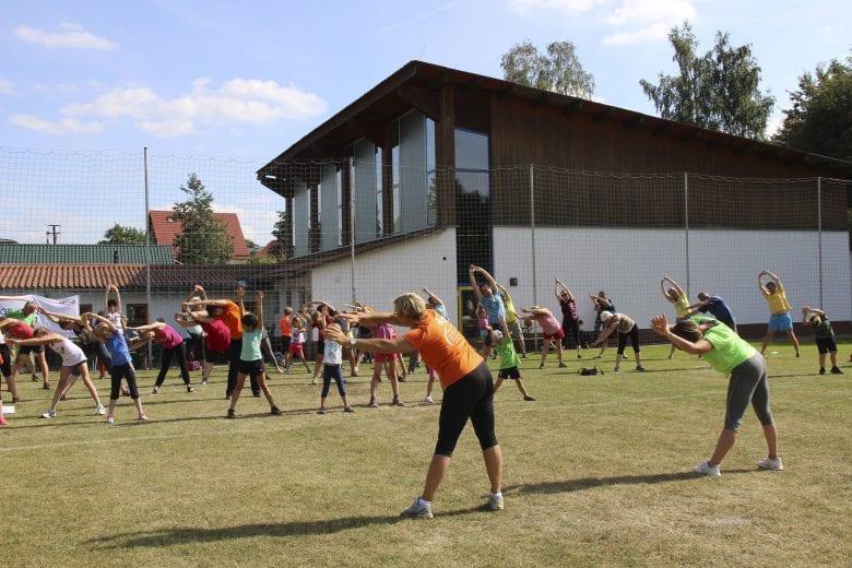 """Sportfest """"Gesundheitstag"""" des VSS Ilmenau e. V."""