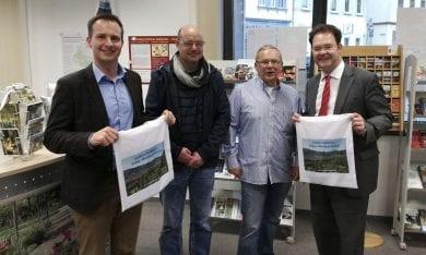 In der Tourismusinformation Friedrichroda