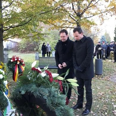 Volkstrauertag auf dem Ilmenauer Friedhof