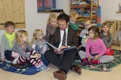 """Zu Gast bei den """"Waidspatzen"""" im AWO-Kindergarten in Mühlberg"""